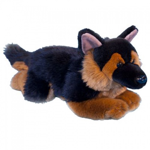 Dowman German Shepherd Plush Soft Toy Dog